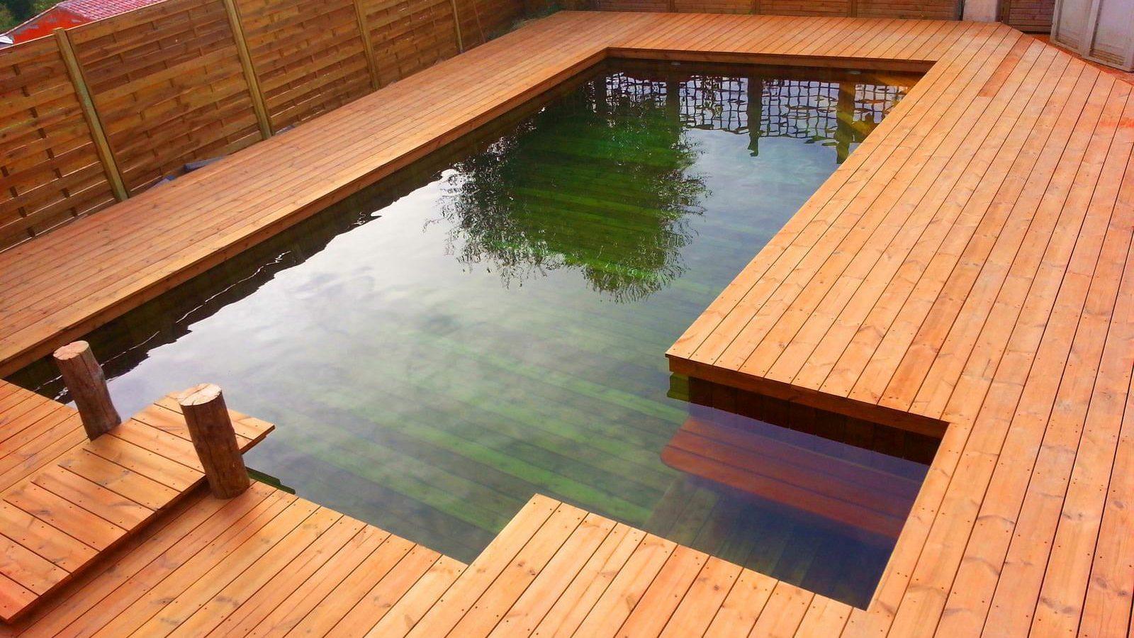 Odysséa, la piscine tout bois qui monte