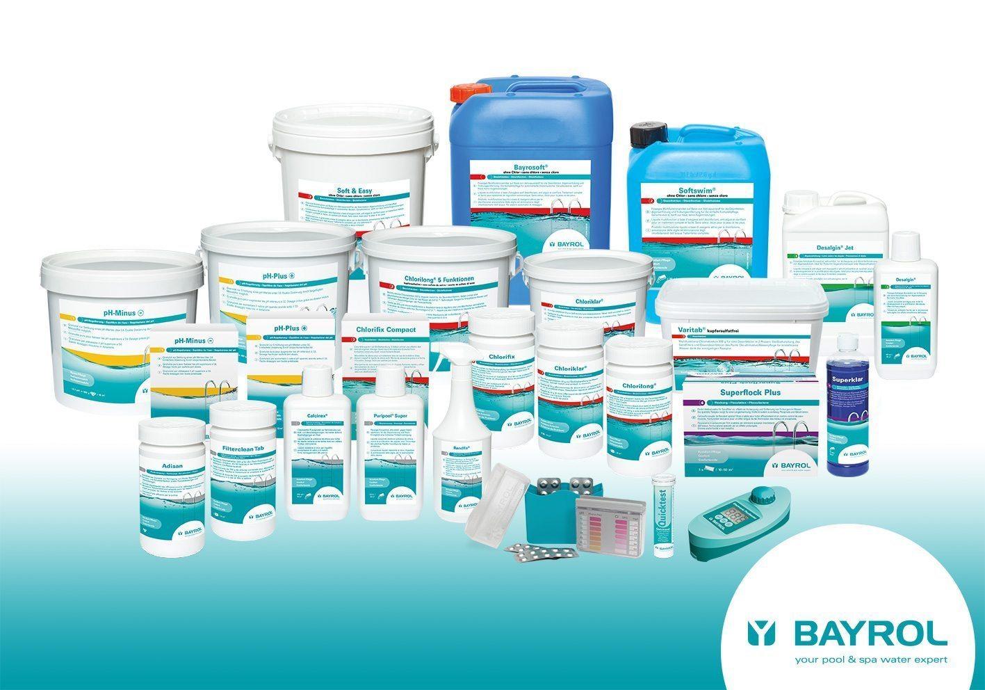 Nouvelle identité graphique, nouvel axe merchandising et nouveaux produits pour Bayrol