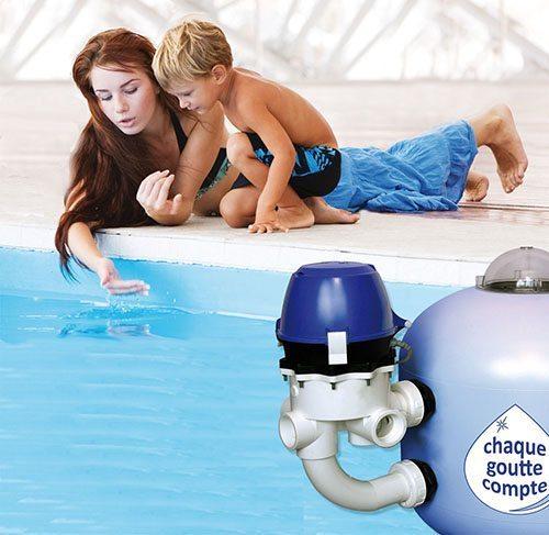 Vanne motorisée PoolCop