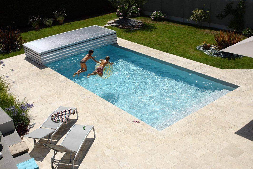 Abri de piscine plat Pool Abri