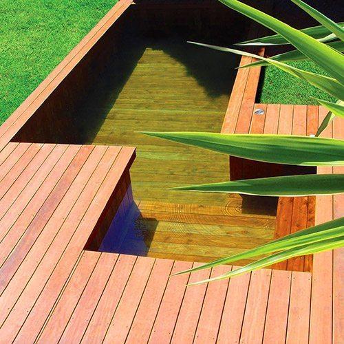 Piscines en bois intérieur et extérieur