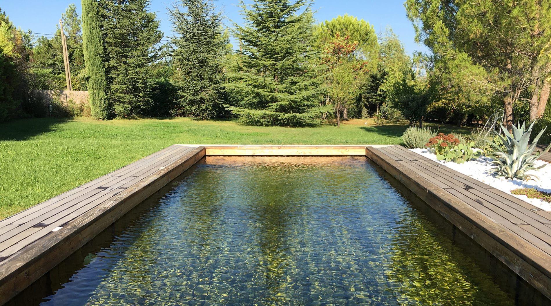 piscine en bois écologique