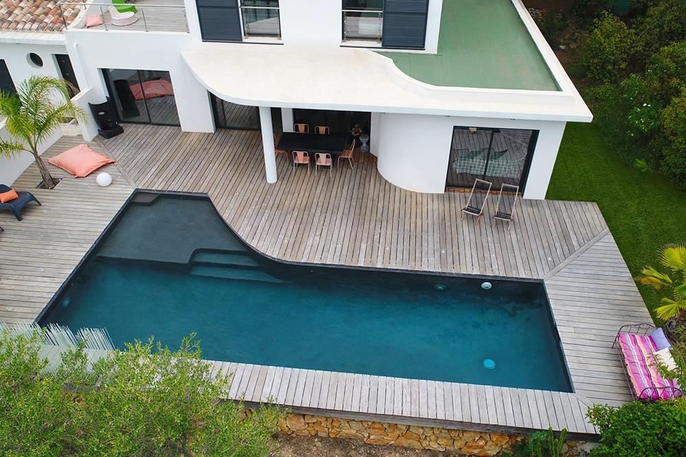 les formes de piscine id es piscine. Black Bedroom Furniture Sets. Home Design Ideas