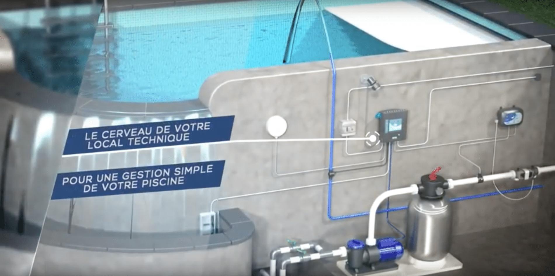 Coffret électrique piscine