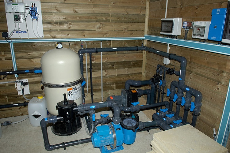 idées piscine filtration
