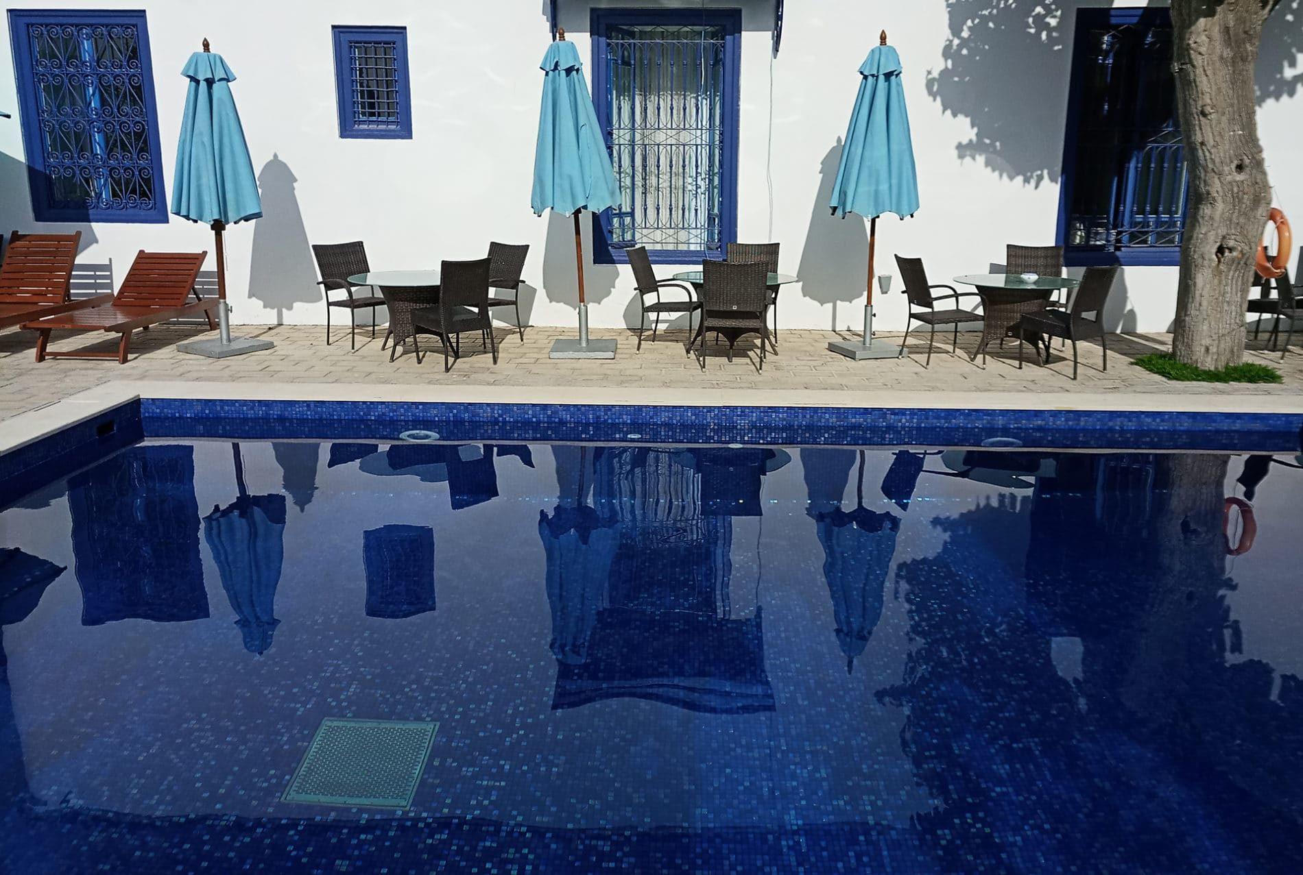 R novation d 39 une piscine avec une mosa que d 39 maux de for Chauffage piscine 974