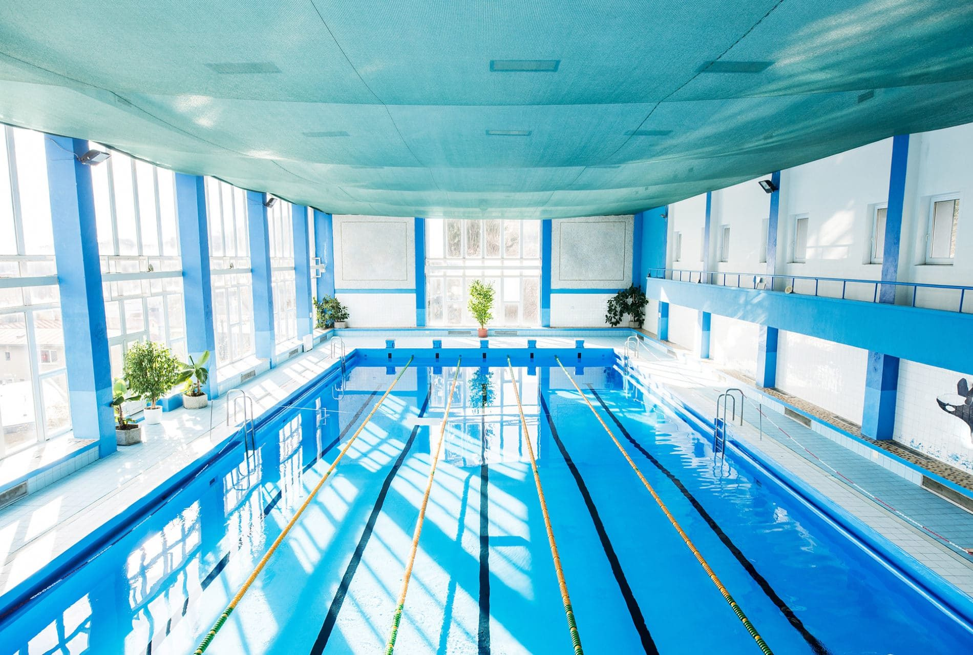 chauffage pour piscines collectives