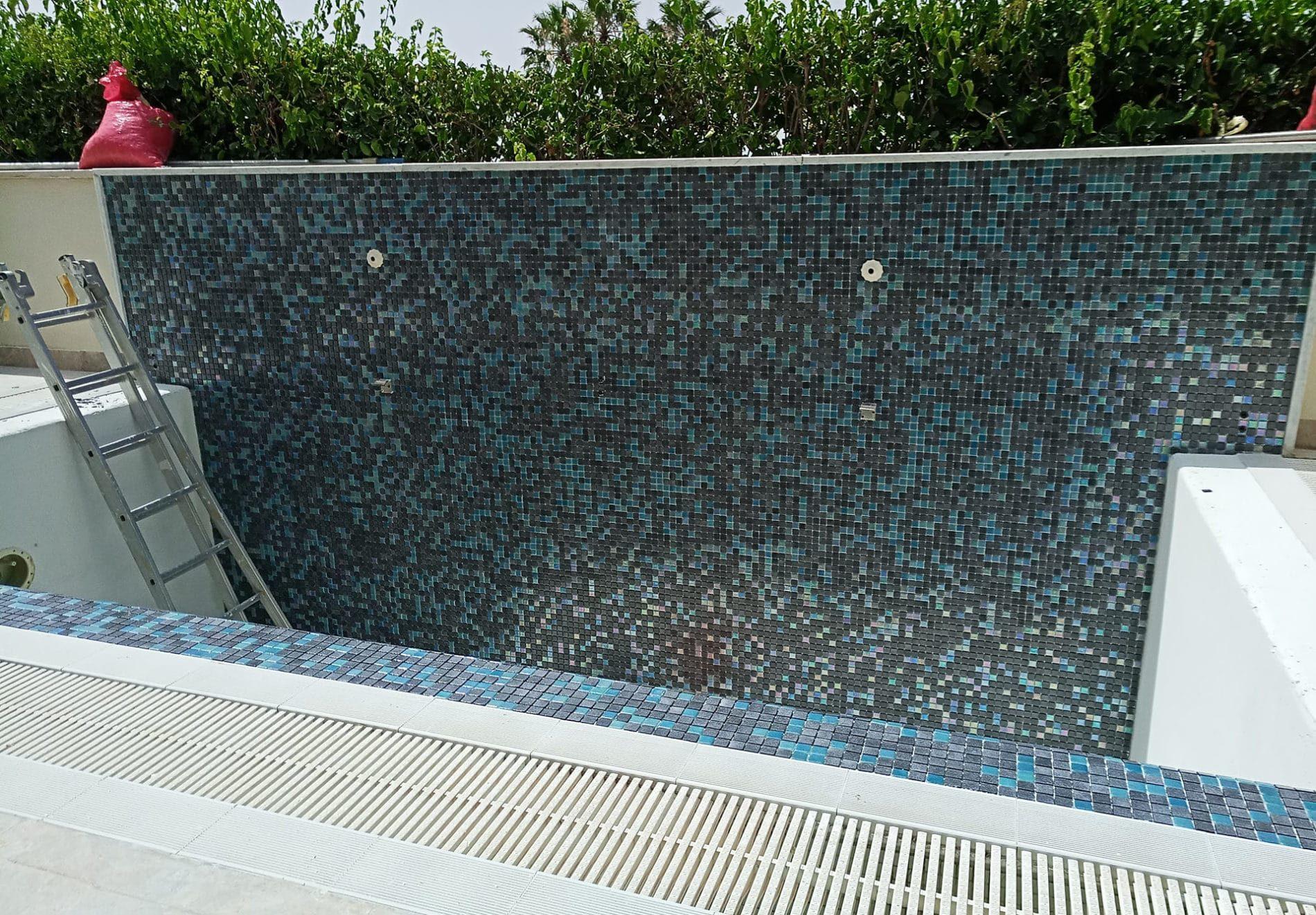 rénovation d'une mini-piscine