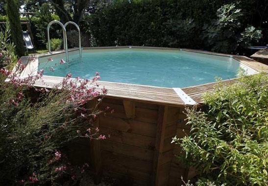 piscine hors sol en bois Ocea de Ubbink