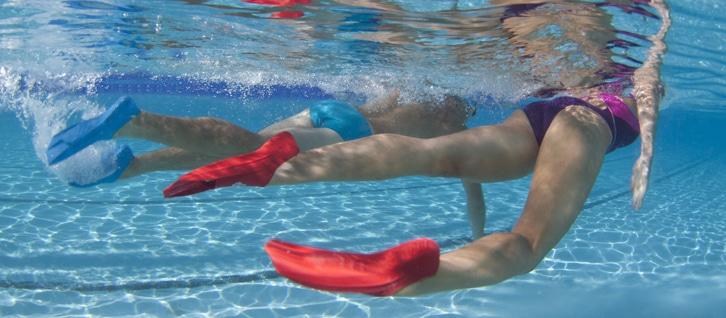 Palmes de natation