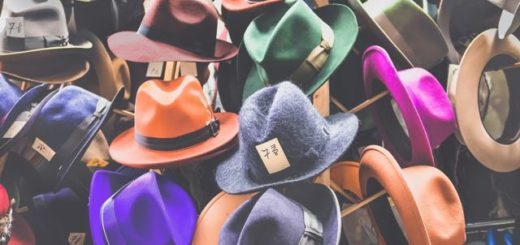 many different colors fedora hats