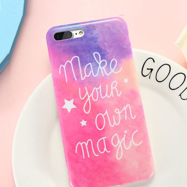Θήκη Art Print Magic Rainbow TPU – iPhone 7 / iPhone 8