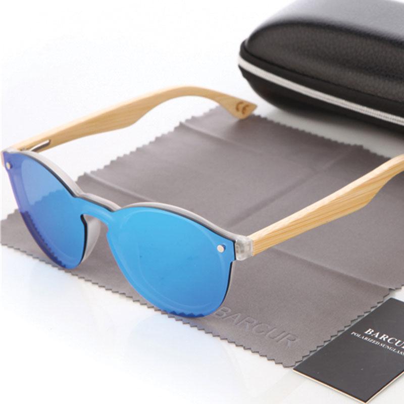 9e73a36dcd Γυαλιά Ηλίου Bamboo Cat Eye Style Blue Γυναικεία - ACCESSORISTA