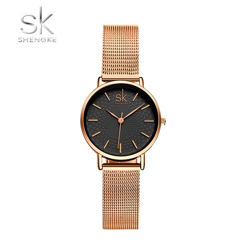 Ρολόι Shengke Melrose Rose Gold με Bracelet