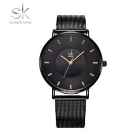 Ρολόι Shengke Daring Black με Bracelet