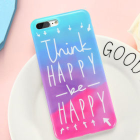 Θήκη Art Print Happy Rainbow TPU – iPhone 7 / iPhone 8
