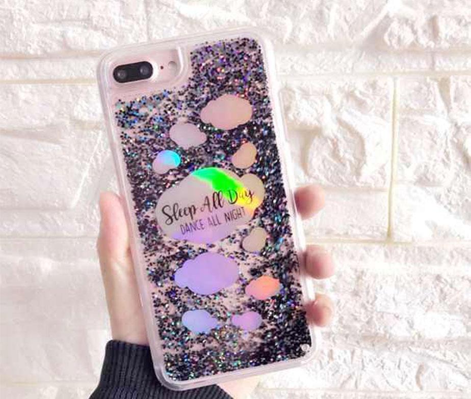 Θήκη Liquid Laser Sleep / Dance – iPhone 6 PLUS / 6s PLUS / 7 PLUS / 8 PLUS