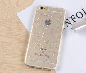 Θήκη Glitter Star Διάφανη - iPhone 7 / iPhone 8