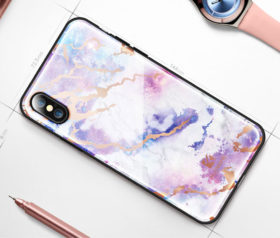 Θήκη Floveme Μάρμαρο Λευκό Space Pattern - iPhone X