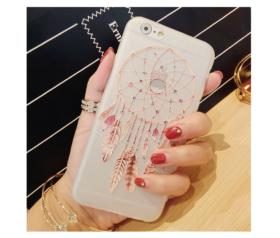 Θήκη Ονειροπαγίδα Ημιδιάφανη Λευκή Μαλακή - iPhone 7 / iPhone 8