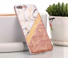 Θήκη Glitter Powder Marble Gold - iPhone 6 PLUS/ iPhone 6s PLUS