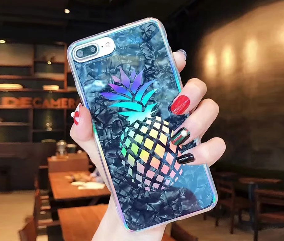 Θήκη Crystal Laser Pineapple - iPhone 6/ iPhone 6s