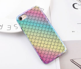 Θήκη Mermaid Rainbow Laser - iPhone 6/ iPhone 6s