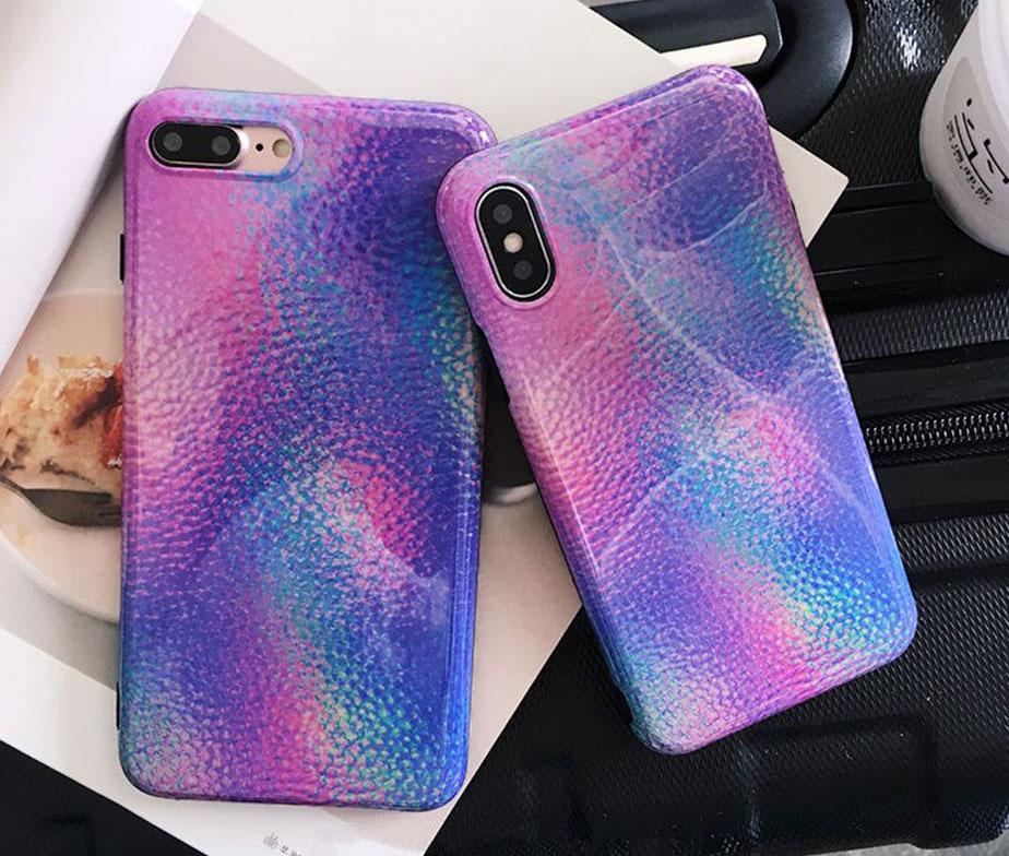 Θήκη Mermaid Skin Rainbow - iPhone 6 PLUS / iPhone 6 PLUS