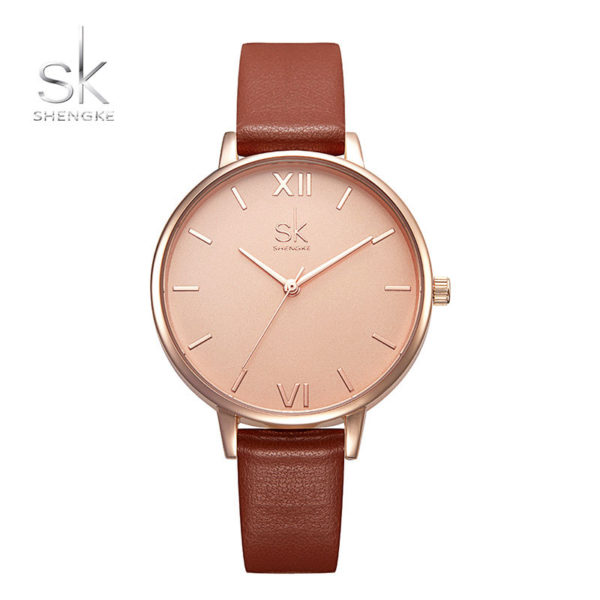 Ρολόι Shengke Siena Rose Gold