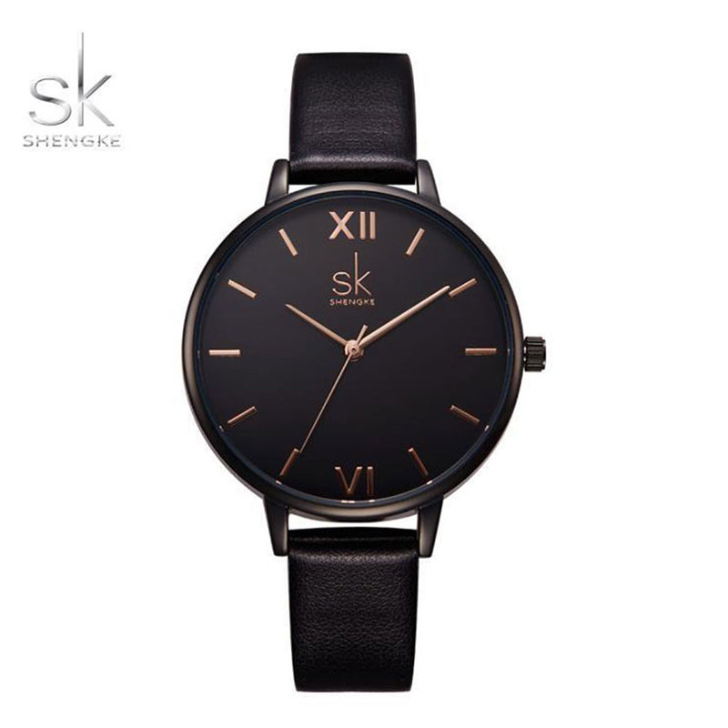 Ρολόι Shengke Somber Rose Gold