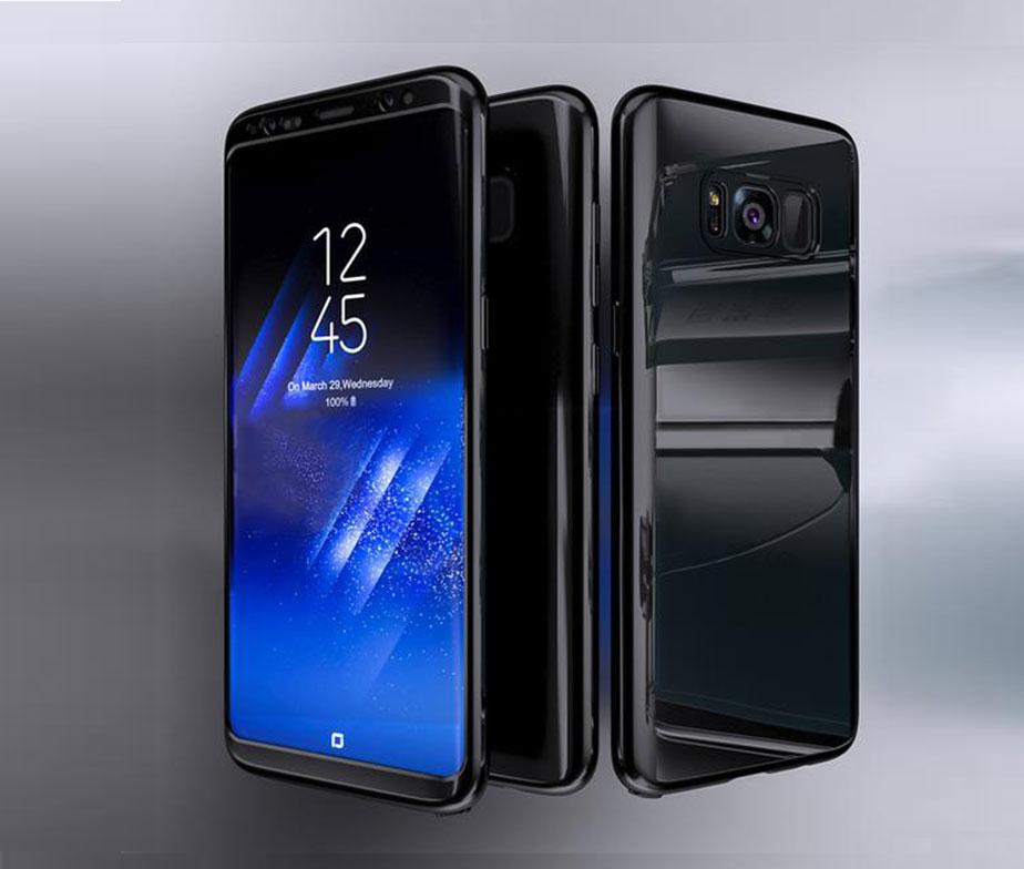 Θήκη 360° Neon Black - Galaxy S8 PLUS