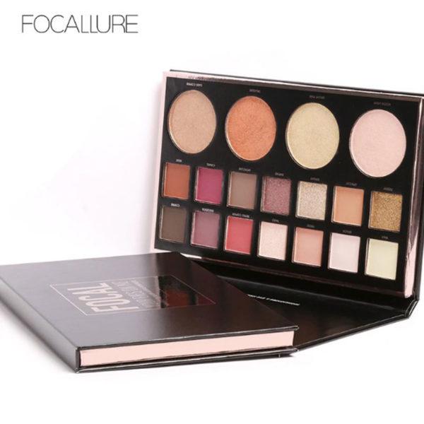 Focal Focallure - Παλέτα Σκιών με 18 χρώματα