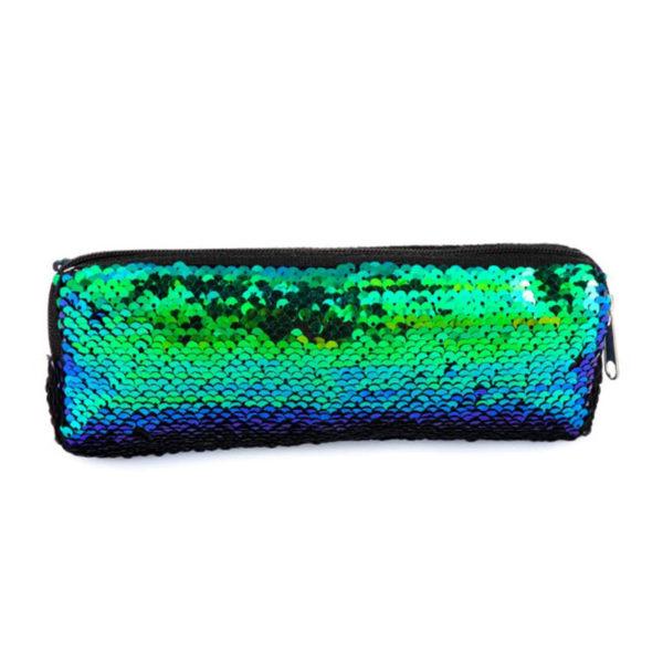Mini Νεσεσέρ Καλλυντικών με Παγιέτες Chameleon / Μαύρο