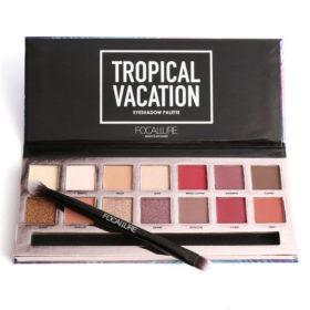 Tropical Focallure - Παλέτα Σκιών με 14 χρώματα