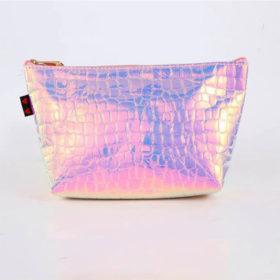 Θήκη Fluoride Pink Snake skin για Πινέλα Make Up