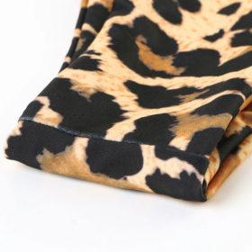 Μαγιό Μπικίνι Ψηλόμεσο Leopard με Μπανέλα & Ενίσχυση