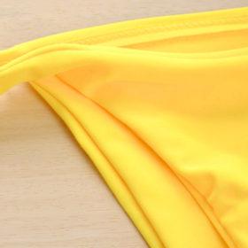 Μαγιό Sexy Yellow με Ρυθμιζόμενες ΤιράντεςΜαγιό Sexy Yellow με Ρυθμιζόμενες Τιράντες