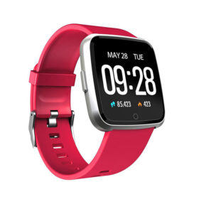 SmartWatch Silicone Red ITR-S7