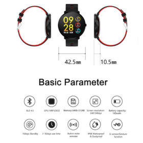 SmartWatch Active Yellow ITR-S9