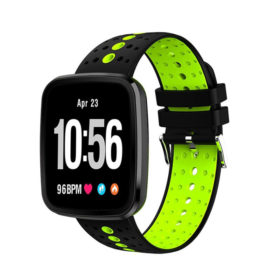 SmartWatch Active Silicone Strap ITR-S6 Green