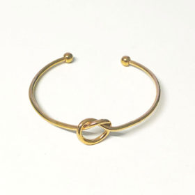 Χρυσό βραχιόλι Vintage Knot