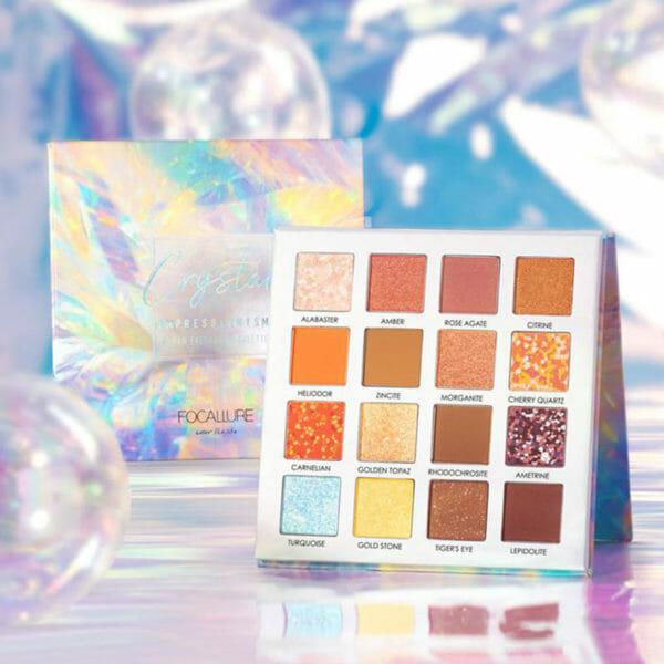 Crystal Focallure- Παλέτα ΣκCrystal Focallure- Παλέτα Σκιών με 16 χρώματαιών με 16 χρώματα
