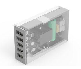 ORICO Φορτιστής USB 5 Θυρών