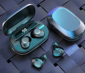 Ασύρματα Μεταλλικά Ακουστικά G16 TWS - Ασημί