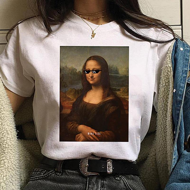 UpStyle T-Shirt Μπλουζάκι Mona Lisa Thug Life - Medium