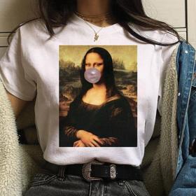 UpStyle T-Shirt Μπλουζάκι Mona Lisa Bubble - Medium