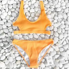 Μαγιό Μπικίνι Αθλητικό Yellowish - Paradise 2020Μαγιό Μπικίνι Αθλητικό Yellowish - Paradise 2020