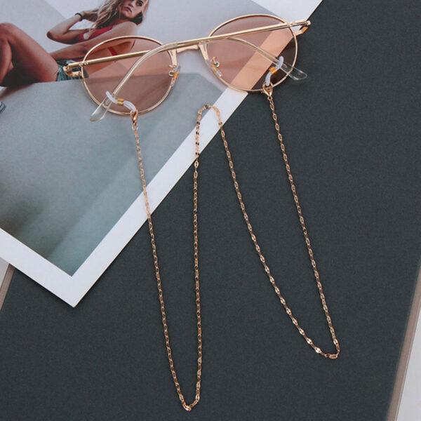 Αλυσίδα Chain Γυαλιών σε Rose/Gold χρώμα