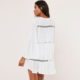 Cover-Up Καφτάνι V-Neck Bohemian - One Size (06)