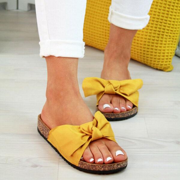 Σαγιονάρα Bohemian Yellow με Φιόγκο